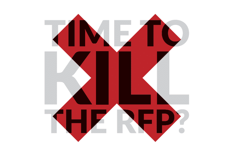 Time to kill the RFP? Reinventing IT procurement for the 2020s